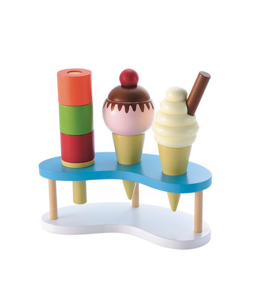 Early Learning Centre Wooden Ice Cream Set