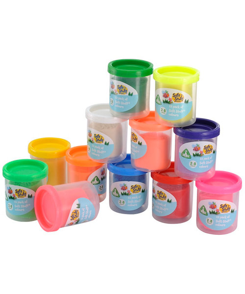 Early Learning Centre Soft Stuff - 12 x 50g
