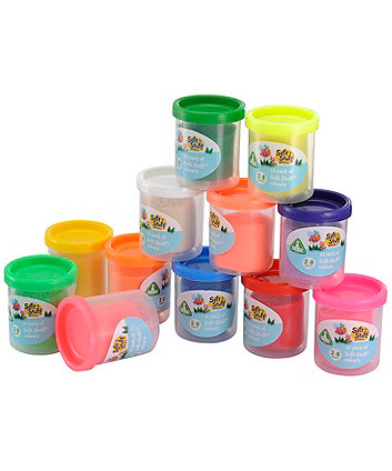 Early Learning Centre Soft Stuff Pack of 12 Colours