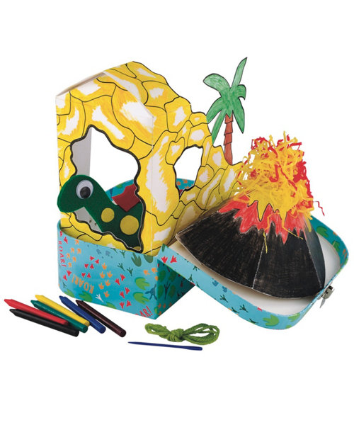 Early Learning Centre Make Your Own Dinosaur And Cave
