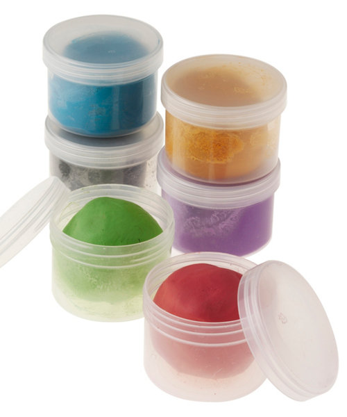 Early Learning Centre Coloured Air Drying Clay - 6 Tubs