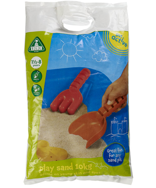Early Learning Centre Natural Play Sand - 10kg Bag