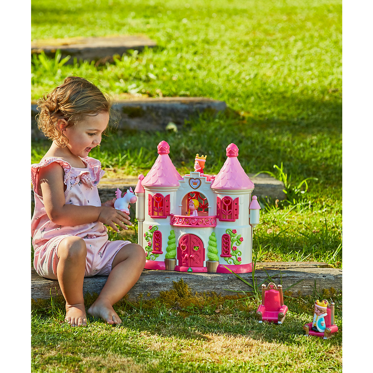Toys For Girls 18 Months : New elc boys and girls happyland fantasy palace toy from