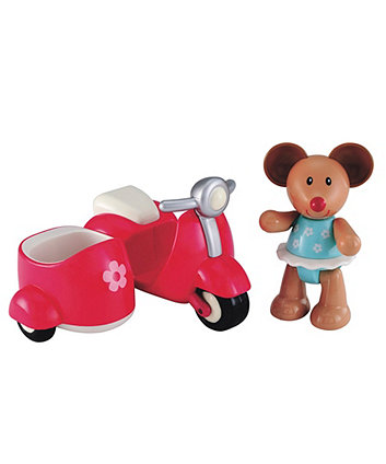 Early Learning Centre Toybox Martha Mouse And Her Scooter