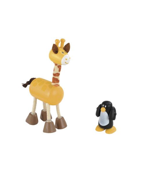 Early Learning Centre Rosebud Giraffe and Penguin Set