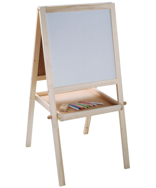 Early Learning Centre Double-Sided Wooden Easel