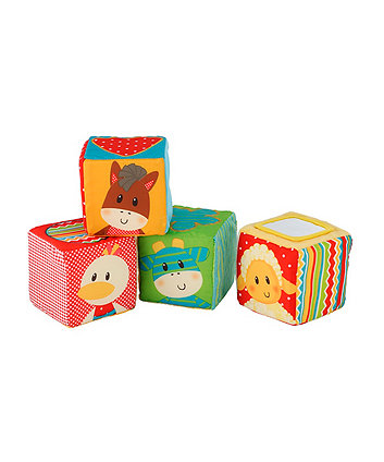 Early Learning Centre Blossom Farm Touch and Feel Soft Cubes
