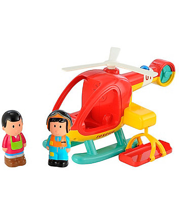 Early Learning Centre Happyland Lights and Sounds Rescue Helicopter