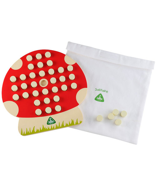 Early Learning Centre Wooden Solitaire Game