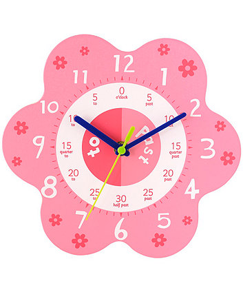 Early Learning Centre Teaching Clock - Pink