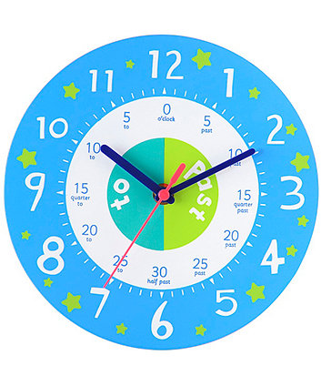 Early Learning Centre Teaching Clock - Blue