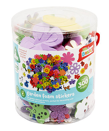 Early Learning Centre Foam Garden Sticker Tub