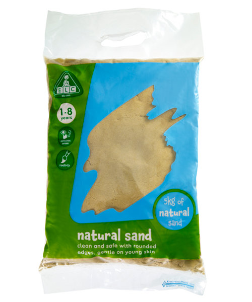 Early Learning Centre Natural Play Sand - 5kg Bag