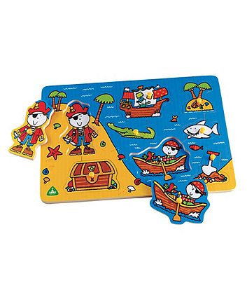 Early Learning Centre Wooden Pirate Puzzle
