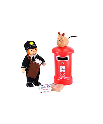 Early Learning Centre Rosebud Village Postman Set