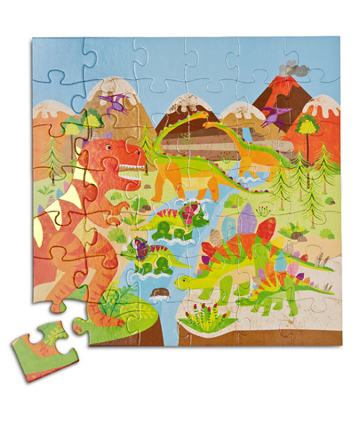 Early Learning Centre 42 Piece Dinosaur Scene Puzzle