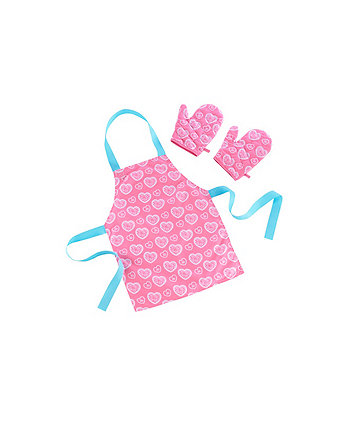 Early Learning Centre Apron and Glove Set - Pink