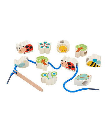 Early Learning Centre Wooden Threading Animals