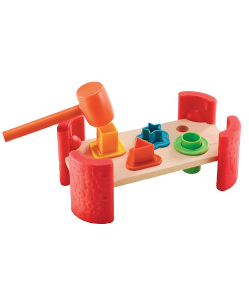 Early Learning Centre Wooden Shape Hammer Bench