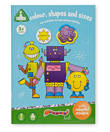 Early Learning Centre Colour Shapes and Sizes Sticker Book