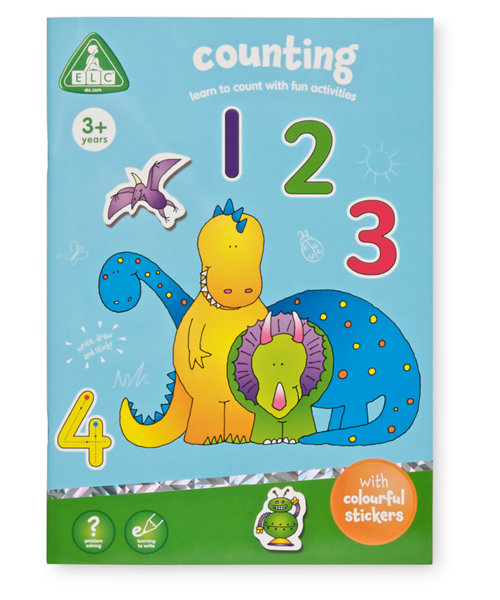 Early Learning Centre Counting Sticker Book