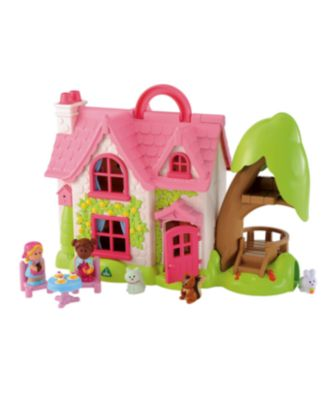New Elc Boys And Girls Happyland Cherry Lane Cottage Toy
