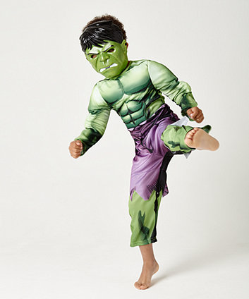Early Learning Centre Marvel Avengers Hulk Dress Up (age 5-6 years)