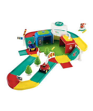 Early Leaning Centre Whizz World Lights And Sounds Rescue Centre