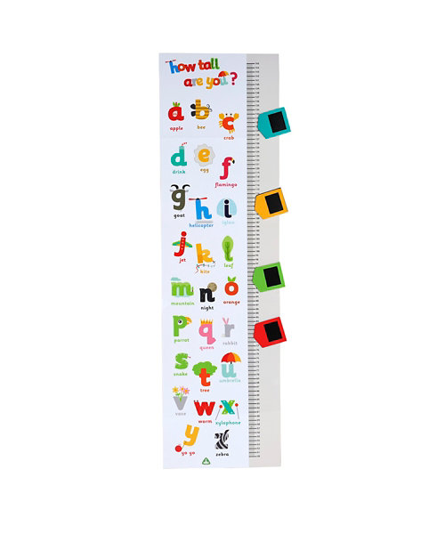 Early Learning Centre ABC Height Chart