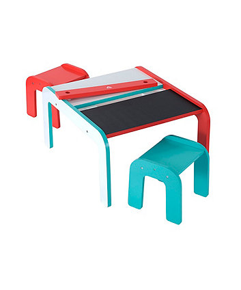 Early Learning Centre Wooden Table and Stools Toy