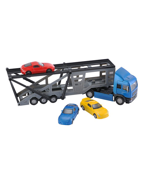 Early Learning Centre Big City Car Transporter with 3 Cars