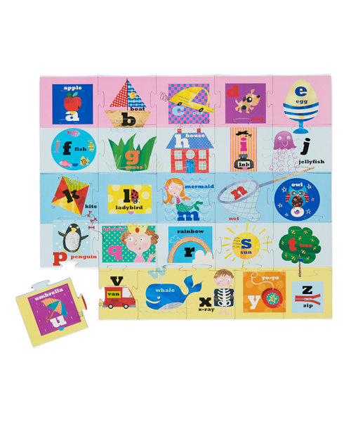 Early Learning Centre Lift The Flap Alphabet Puzzle