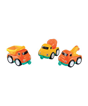 Early Learning Centre Whizz World Construction Car Trio Set