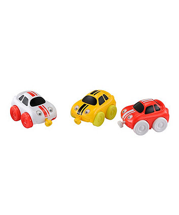 Early Learning Centre Whizz World Racing Car Magnetic Trio Set