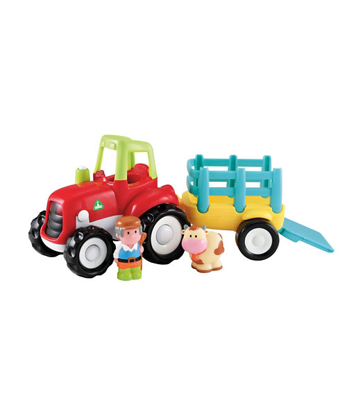 Early Learning Centre Happyland Lights and Sounds Farm Tractor