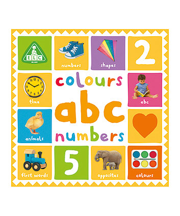 Early Learning Centre First 100 Colours, Abc and Numbers