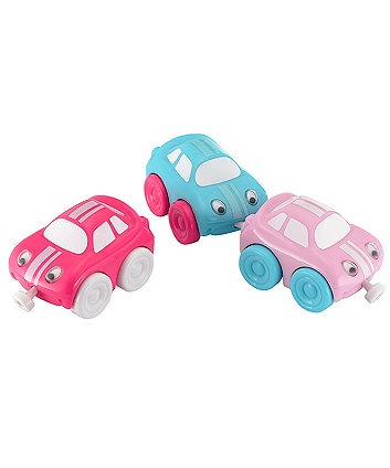 Early Learning Centre Whizz World Magnetic Racing Car Trio - Pink