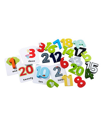 Early Learning Centre Wooden Numbers and Cards