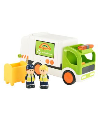 Early Learning Centre Happyland Lights And Sounds Refuse Lorry