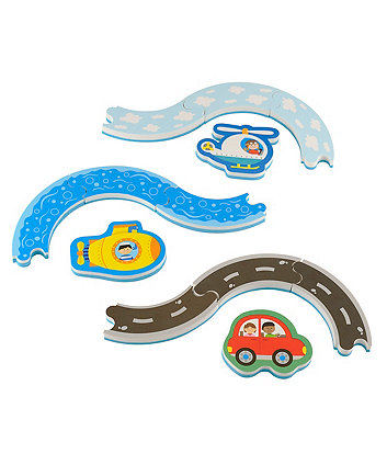 Early Learning Centre Track and Vehicle Bath Puzzle
