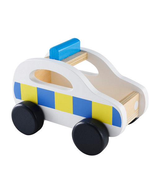 Early Learning Centre Wooden Police Car