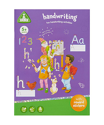 Early Learning Centre Handwriting Book