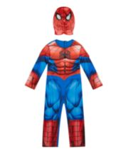 Early Learning Centre Spiderman Dress Up Costume with Mask 5-6 year old