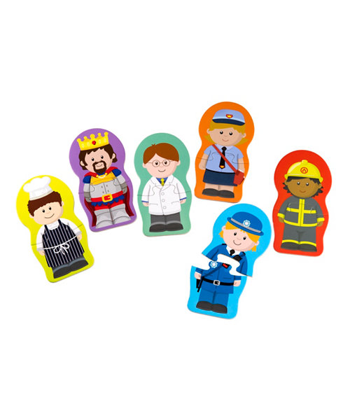 Early Learning Centre Happyland Mix and Match Puzzles