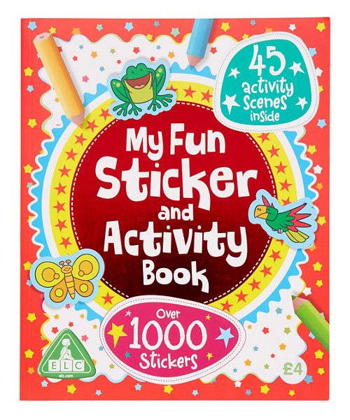 Early Learning Centre Sticker and Activity Book
