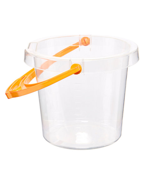 Early Learning Centre Clear Sand Bucket
