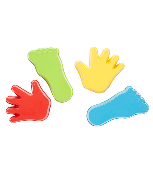 Early Learning Centre Hand and Feet Sand Moulds