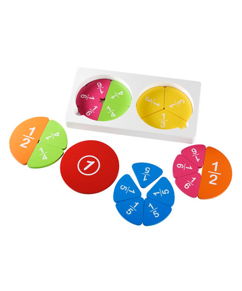 Early Learning Centre Wooden Fraction Set