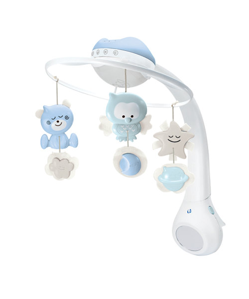 Early Learning Centre Infantino 3 in 1 Projector Mobile - Neutral