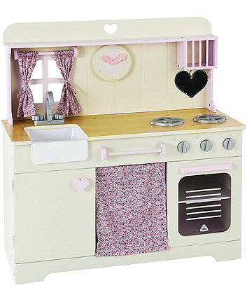 Early Learning Centre Wooden Pastel Kitchen